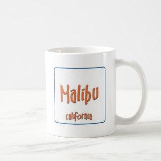 Malibu California BlueBox Basic White Mug
