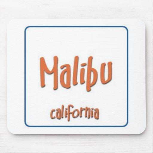 Malibu California BlueBox Mousepad