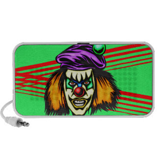 Malicious Evil Clown Travel Speakers