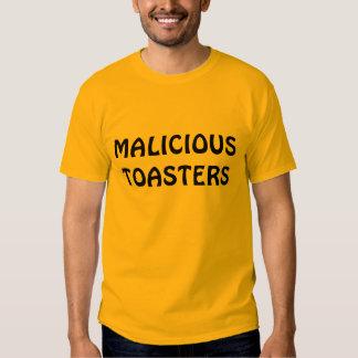 MALICIOUS TOASTERS TEE SHIRT