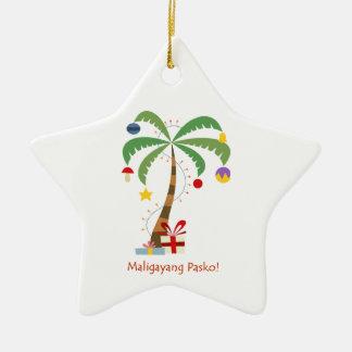 Maligayang Pasko Christmas Tree Ornament