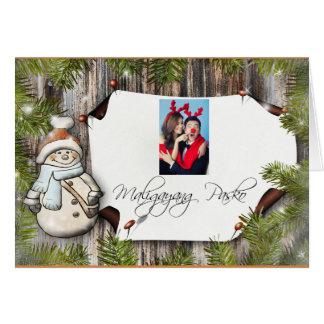 "Maligayang Pasko ""Merry Christmas"" Card"