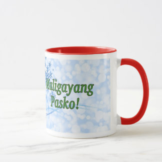 Maligayang Pasko! Merry Christmas in Tagalog gf Mug