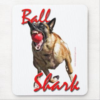 Malinois Ball Shark 2 Mouse Pad