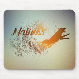 Malinois - Belgian shepherd -Mechelaar -Maligator Mouse Pad