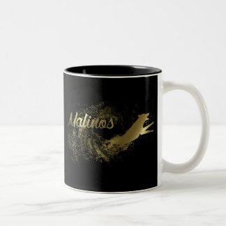 Malinois - Belgian shepherd -Mechelaar Two-Tone Coffee Mug