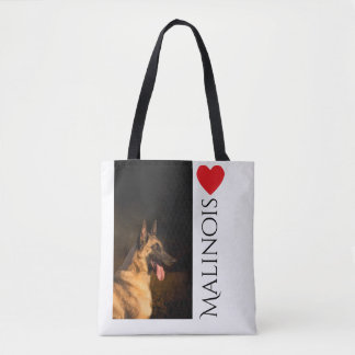 Malinois Breed Tote Bag