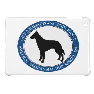 Malinois Rescue Logo, iPad Mini Cases