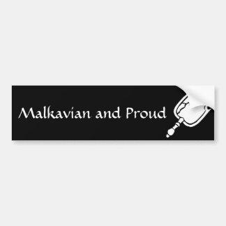 Malkavian bumper stickers