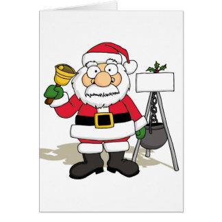 Mall Santa Card