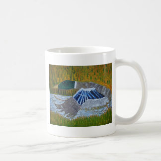 Mallard Duck Basic White Mug