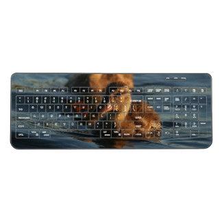 Mallard Duck Bird Animal Wireless Keyboard