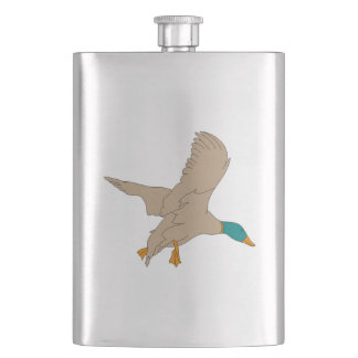 Mallard Duck Hip Flask