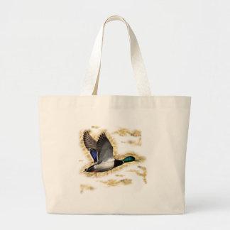 Mallard Duck Hunting Jumbo Tote Bag