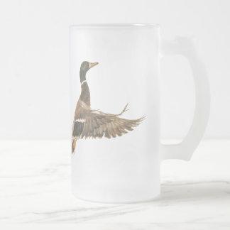 Mallard Duck in Flight Mug