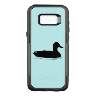 Mallard Duck in Silhouette OtterBox Commuter Samsung Galaxy S8+ Case