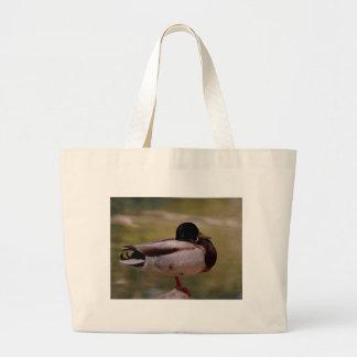 Mallard Duck Jumbo Tote Bag