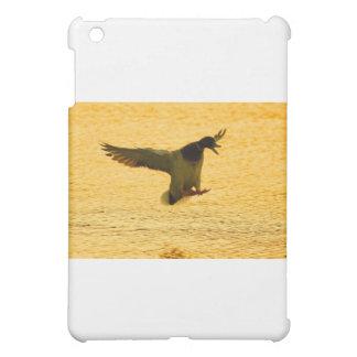 Mallard Duck Landing On Water Case For The iPad Mini