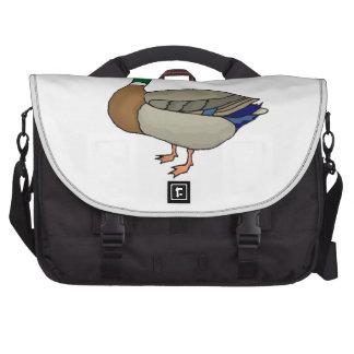 Mallard Duck Laptop Messenger Bag