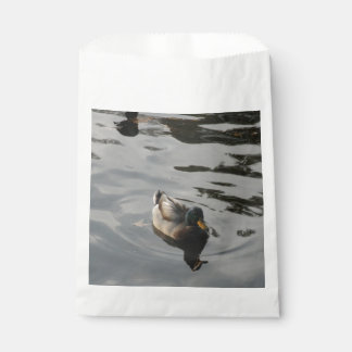 Mallard Duck Swimming Favour Bag
