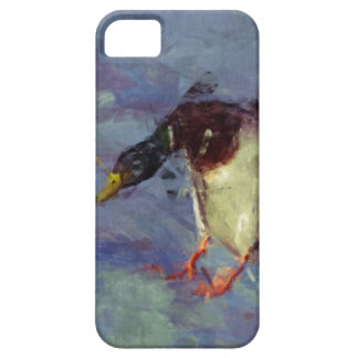 Mallard Duck Water Fowl Impressionist Painting iPhone 5 Covers