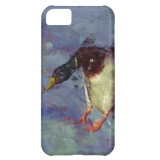 Mallard Duck Water Fowl Impressionist Painting Cover For iPhone 5C