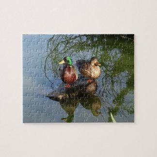 Mallard Ducks #2 Jigsaw Puzzle