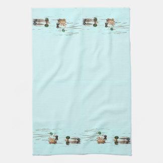Mallard Ducks Art Towel