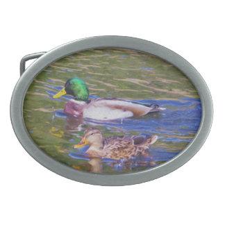 Mallard Ducks Belt Buckles