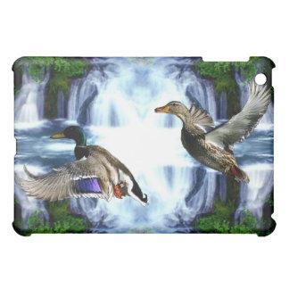 Mallard ducks iPad mini case