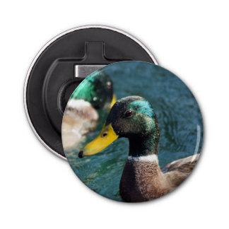 Mallard Ducks Magnet Backed Bottle Opener