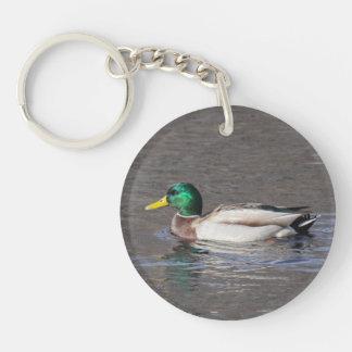 Mallard Key Chain
