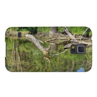 Mallard on Pond Galaxy S5 Cover