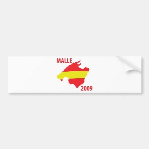 malle contour 2009 icon bumper stickers