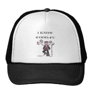 Mallets - I Know Wood Fu Hats