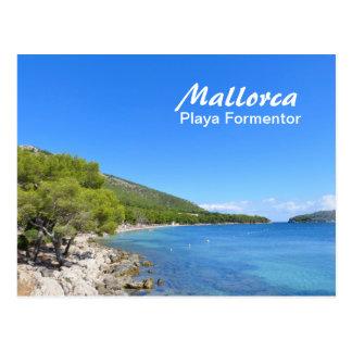 Mallorca, Playa Formentor - Postcard