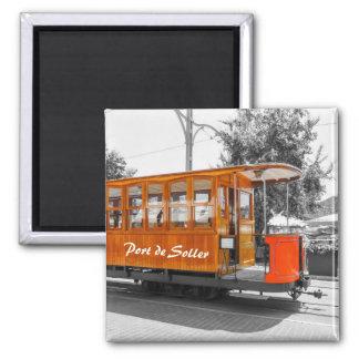 Mallorca Port de Soller Old Tram Souvenir Magnet