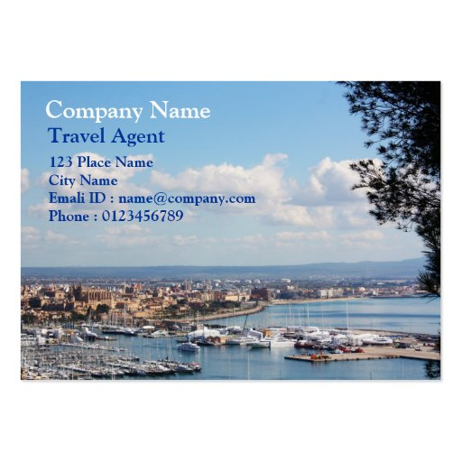 Mallorca seascape business cards