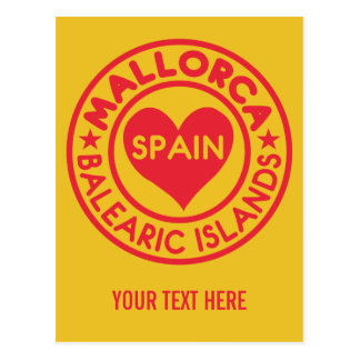 MALLORCA Spain custom postcard