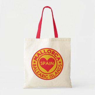 MALLORCA Spain tote bags