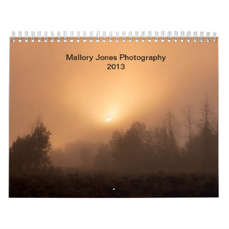Mallory Jones Photography 2013 Calendar