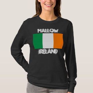 Mallow, Ireland with Irish flag T-Shirt