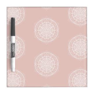 Mallow Mandala Dry Erase Board