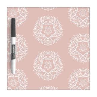 Mallow Mandala Dry Erase White Board