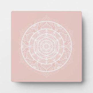 Mallow Mandala Plaque