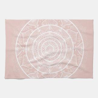 Mallow Mandala Tea Towel