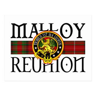 Malloy Reunion Postcard