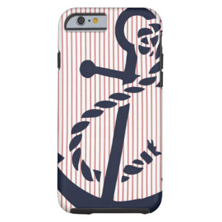 Mally Mac NAUTICAL Anchor stripe iPhone 6 case