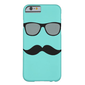 Mally Mac Sunglasses & Mustache iPhone 6 case
