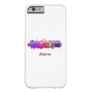 Malmo skyline in watercolor barely there iPhone 6 case